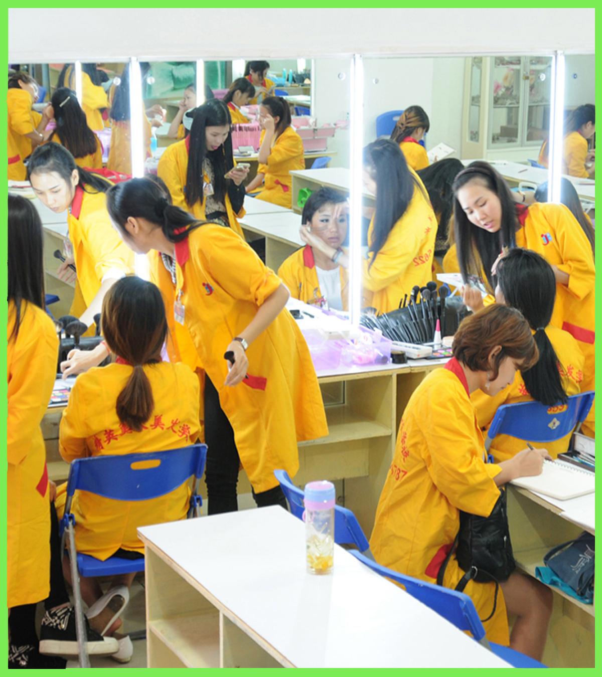 学员校内彩妆比赛